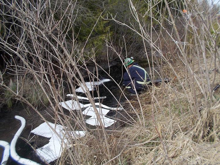 Emergency Spill Response Port Stanley