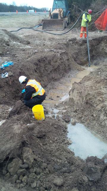 Soil Collection and Testing Company serving Niagara Falls Ontario