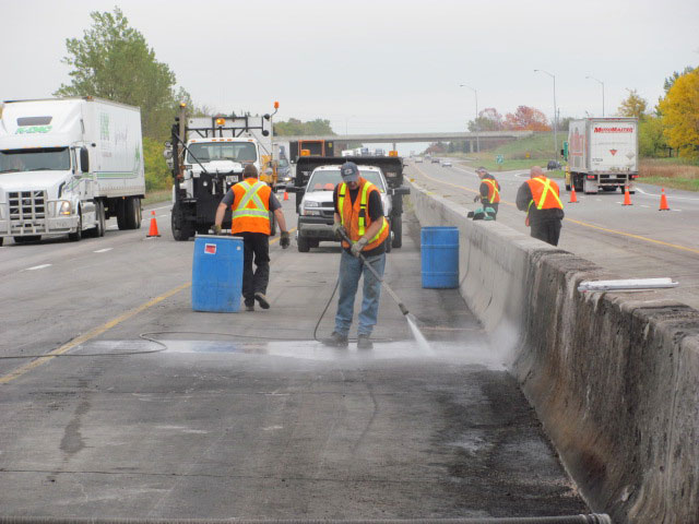 Highway Spills Clean-up photos
