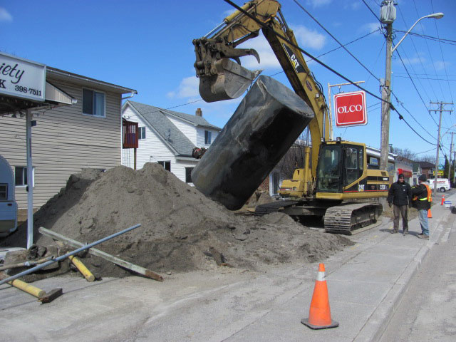 Underground Storage Tank Removal in Milton